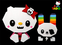 tado-kitty! (TADO DEATH BRIGADE) Tags: wood three hellokitty sanrio tado royalt japanla 3apples