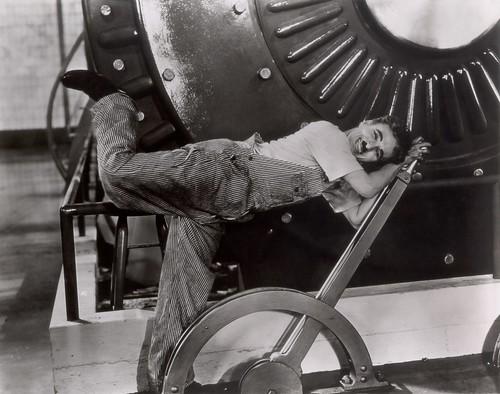 "Charles Chaplin, ""Tempos Modernos"" (1936)"