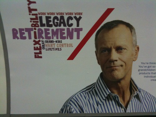 Wordle-influenced pension fund advert creative