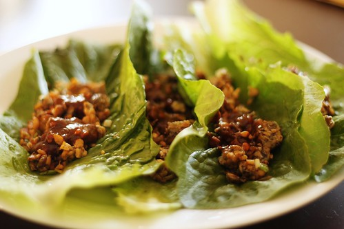 vegetarian tempeh lettuce wraps | Center Stage Wellness | San Diego ...