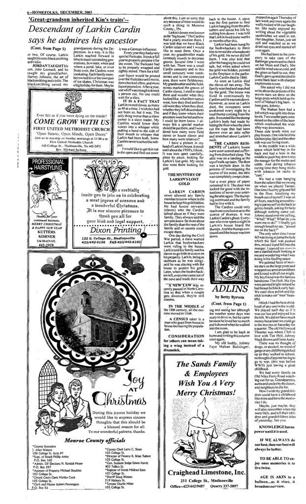 Larkin Cardin Story Page 2