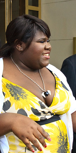 Hollywood actress Gabourey Sidibe