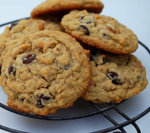 Peanut Butter Oatmeal Cookies CU