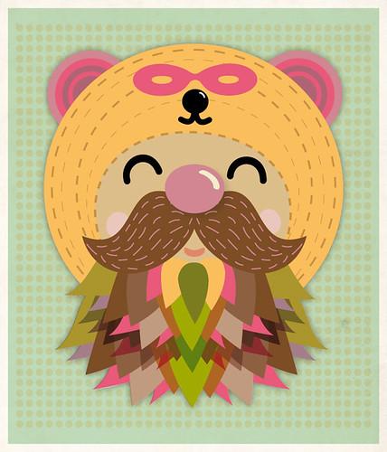 The Magical Beard by suero-studio