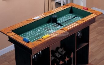 BLACKJACK AND CRAPS 2-IN-1 BAR