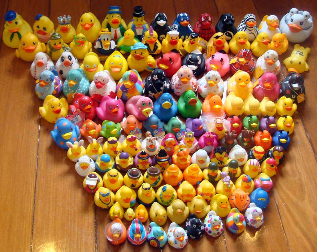 Duck fan forum my rubber duck collection