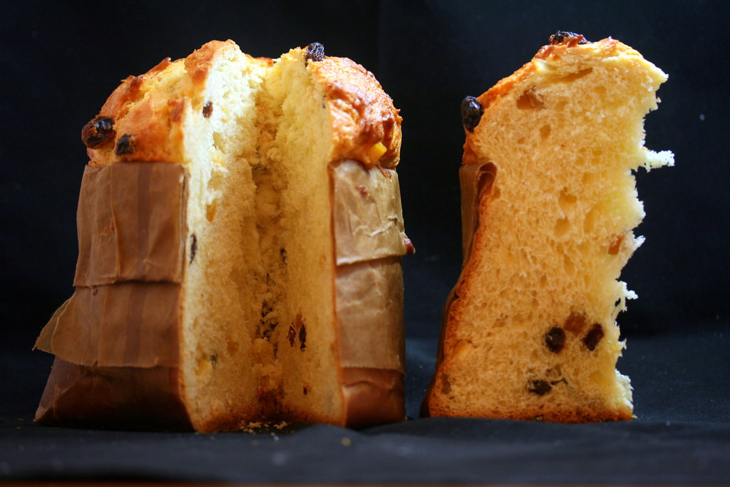 ... is not Christmas without the traditional fruit cake called Panettone
