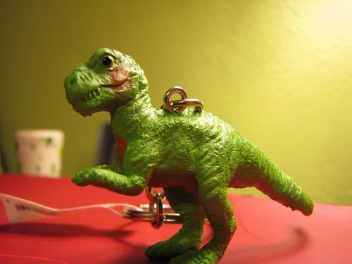 T. rex keychain!