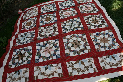 Haight Family Quilt top
