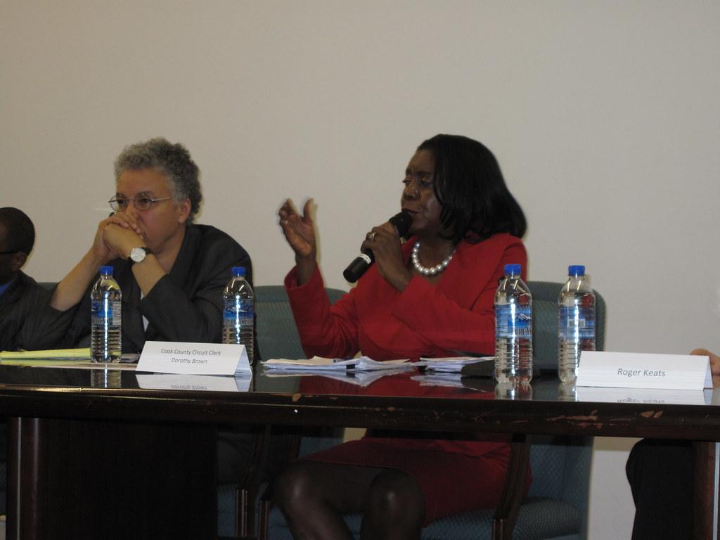 Speaking at Delta's Candidates Forum