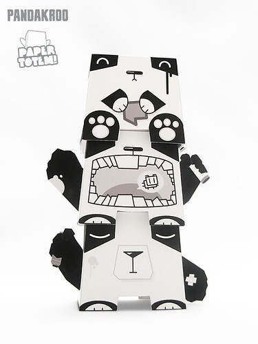 Paper Totem! x Pandacrew