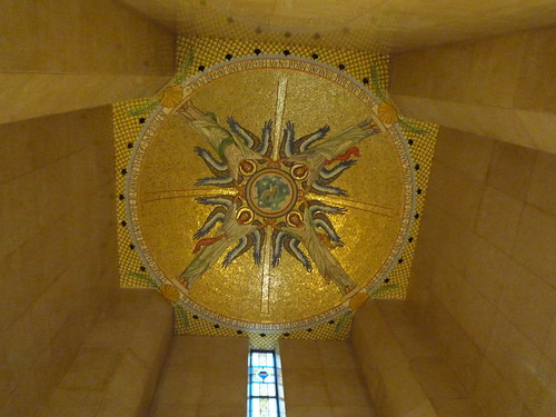 Memorial Chapel ceiling