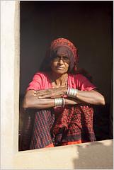 ethnic, bhadkha (nevil zaveri (thank you for 10million+ views :)) Tags: door old portrait woman india lady rural print photography photo blog women village dress stock potter images clothes block zaveri saree jaisalmer thar rajasthan stockimages bangles nevil bhadkha nevilzaveri