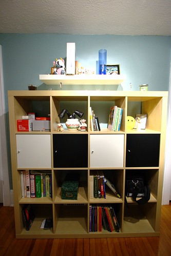 Office: After - The bookshelf!