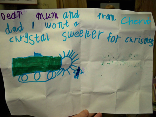 crystal sweeper letter