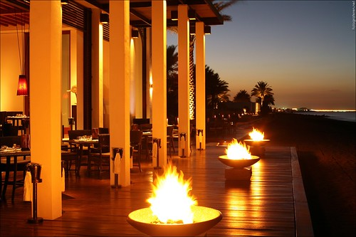 The Chedi Muscat - Seaside Restaurant