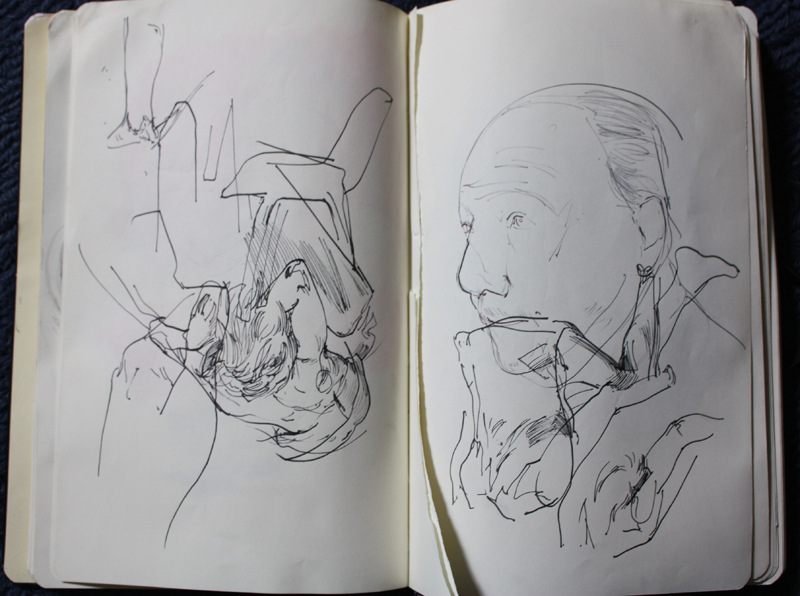 Sketchbook of Alexander Carletti