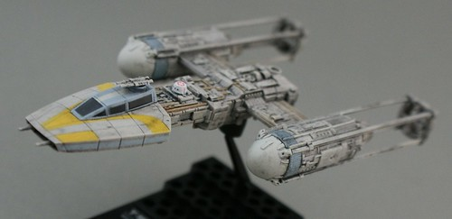 Star Wars 1/144 - Y-wing with R5 - 6