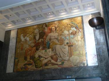 Napier Waller Mural