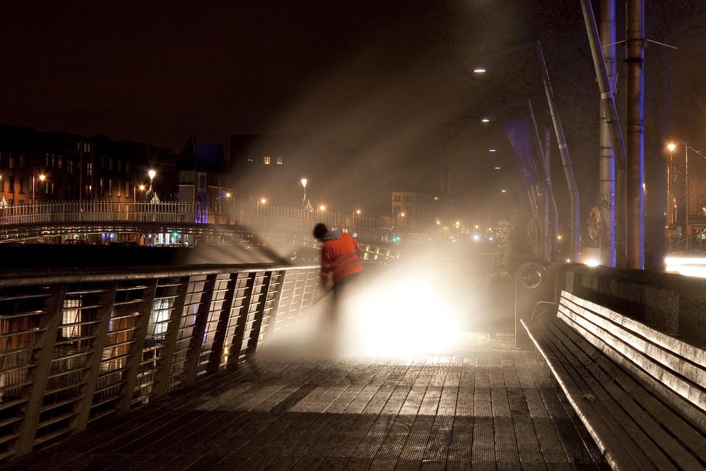 Night Steam Clean
