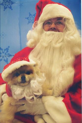 Santa and Kitsu