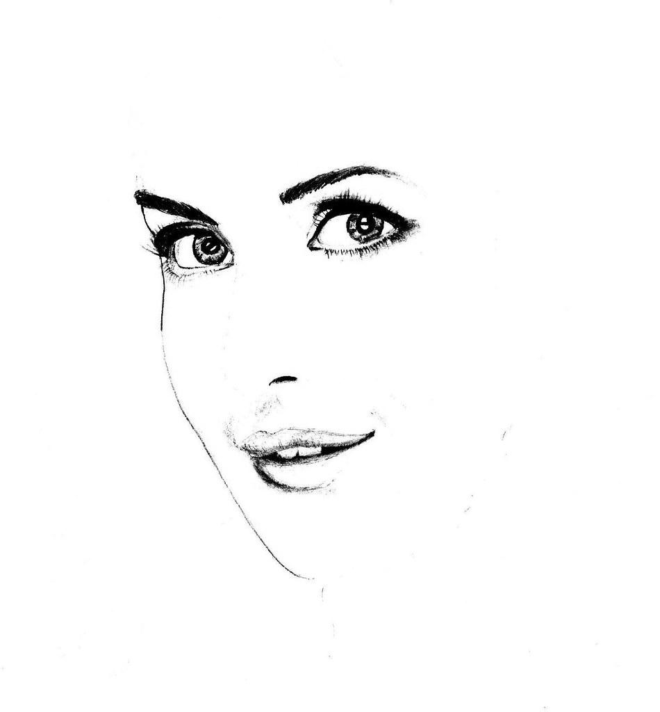 Katrina kaif 1 portrait sagar puro tags portrait india closeup pencil painting movie