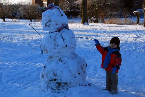 Just found a snowman