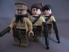 Allied Soldiers (Hound') Tags: lego ww2 allies brickarms