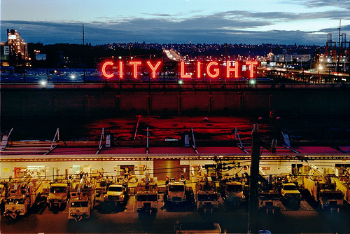 City Light south service center, 1998