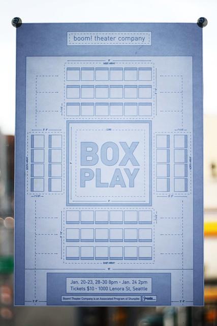 Boxplay Poster (Printed)