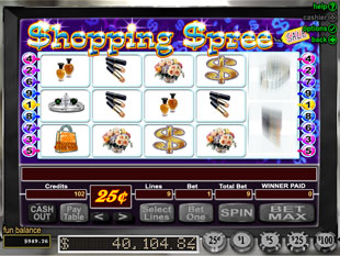 Shopping Spree slot game online review