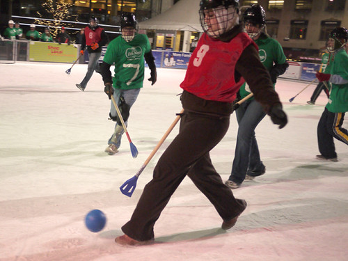 Broomball Jan 18th 2010