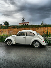 beatle (maria kal) Tags: street sea oldbuildings crete beatle chania