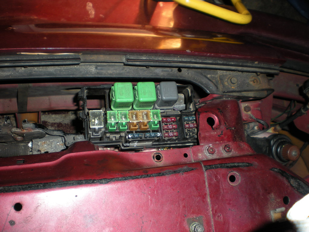 240sx Fuse Box Relocation Not Lossing Wiring Diagram 1995 Chevy Tahoe My Fusebox Tuck And Battery Thread 56k No Rh Zilvia Net 1993 Nissan Sentra