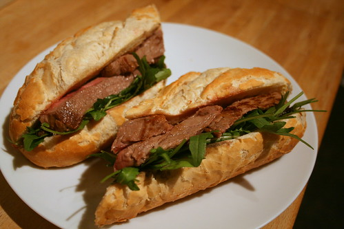 Steak Bagette 2