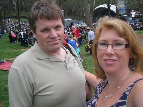 Kevin & Libby at A Day on the Green