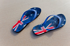 Australia Day (john white photos) Tags: summer holiday beach sand thongs auselite johnwhitegettyimages