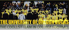 THE COOLEST TEAM IN COLLEGE FOOTBALL (Michael Lechner) Tags: college home sports oregon football stadium ducks eugene ncaa picnik eugeneoregon oregonducks collegefootball autzen collegesports pac10 division1 autzenstadium oregonducksfootball mightyoregon ducksspirit wsuvsoregon