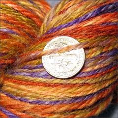 Simpatico yarn, close up