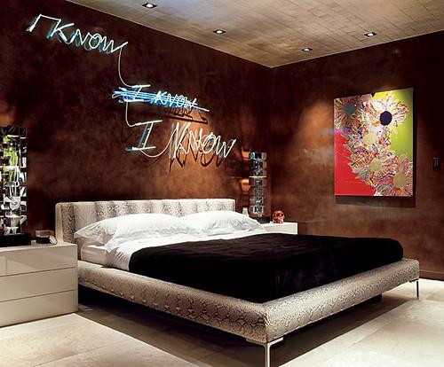 elton john bedroom