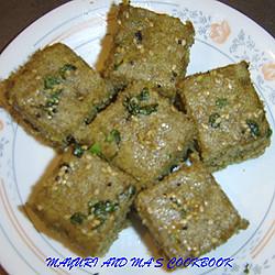 Mayuri's Ragi Flour Dhokla