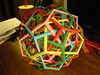 Six Irregular Dodecahedra: 5-fold Axis