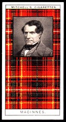 Cigarette Card - Clan MacInnes
