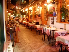 Улица в Кавала, Гърция