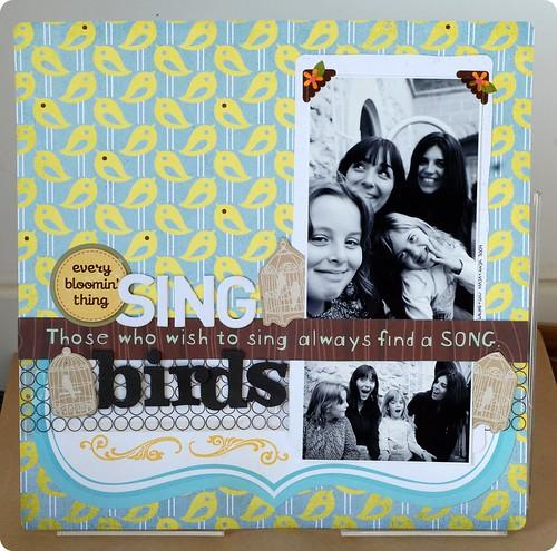 Sing birds