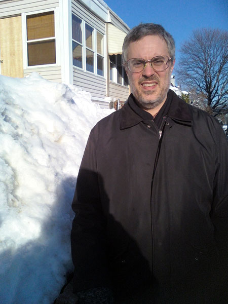 The Gryphon with Snow Pile