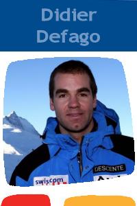 Pictures of Didier Defago!
