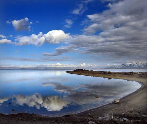 salt lake north on stansbury island
