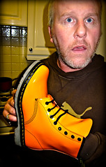 Orange Docs (CWhatPhotos) Tags: pictures camera england orange men love feet me leather yellow digital canon that boot foot photo mine foto with boots photos lace dr air picture powershot wear have doctor footwear fotos mens stitching z comfort sole doc cushion marten which soles dm docs laces contain drmartens bouncing airwair s90 docmartens welt martens patent laced 1460 drmarten cushioned wair bouncingsoles 1460s airwear cwhatphotos