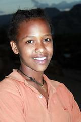 Girl of Africa (Alan1954) Tags: africa portrait girl face female happy ethiopia lalibela